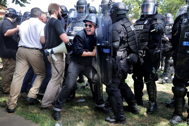 граждански сблъсъци в шарлътсвил