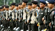 Индонезийски полицаи