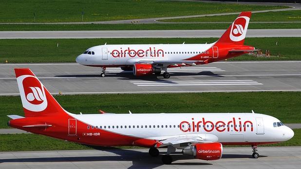 Самолети на Air Berlin
