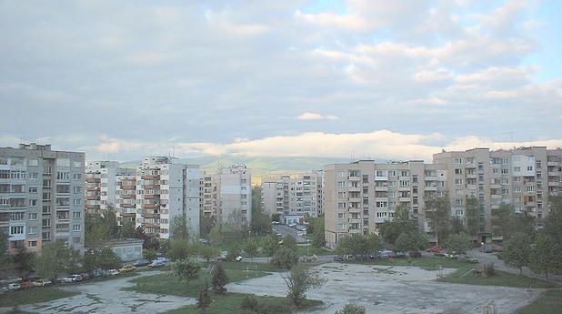 Панелен пейзаж в Люлин