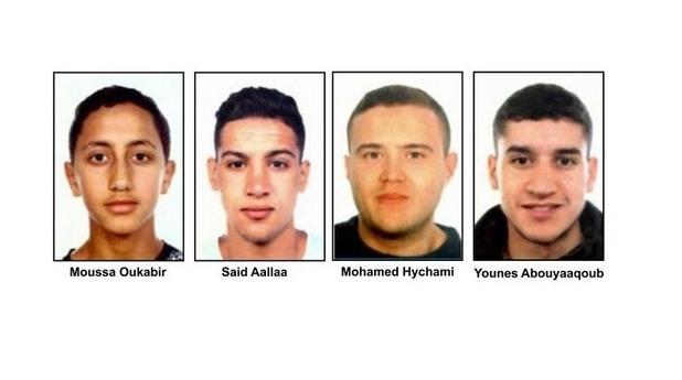 Нападателите, стоящи зад атентата в Барселона