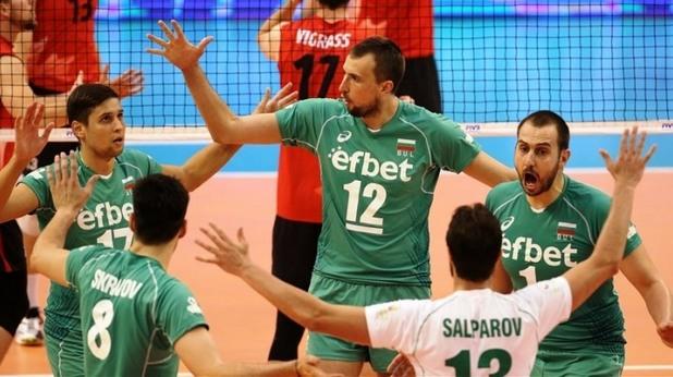 волейбол, българия, национален отбор, мъже