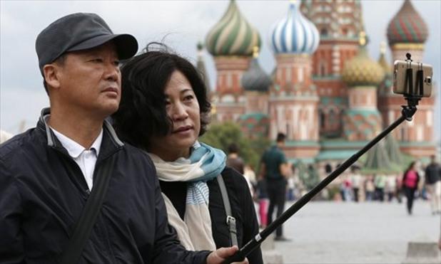 туристи, китайски туристи в русия