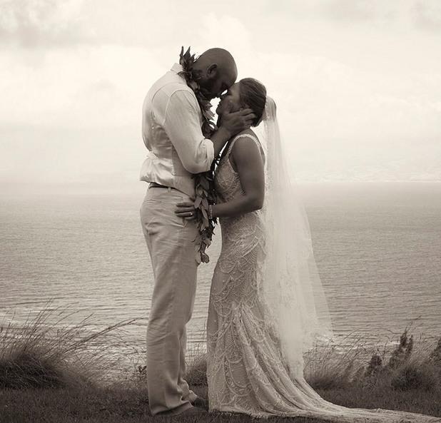 ронда раузи, травис браун, сватба