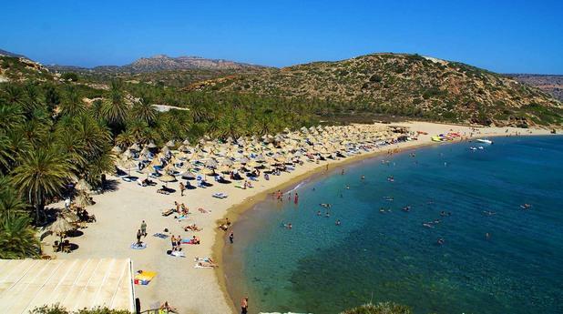 Плаж Вай, Крит