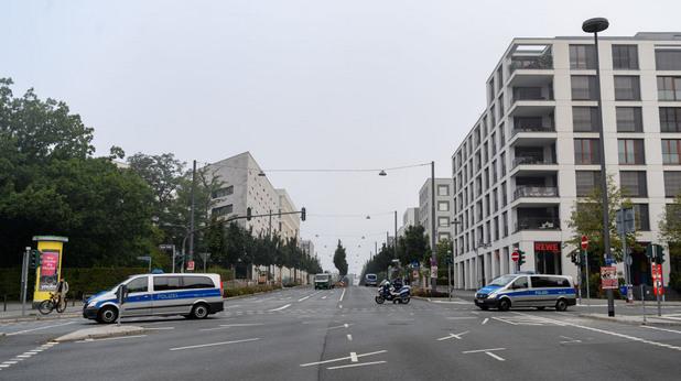франкфурт, евакуация