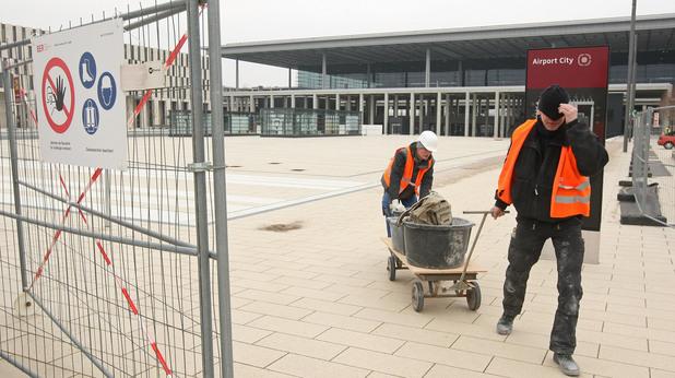 "Ремонтът на летище ""Бранденбург"" в Берлин"