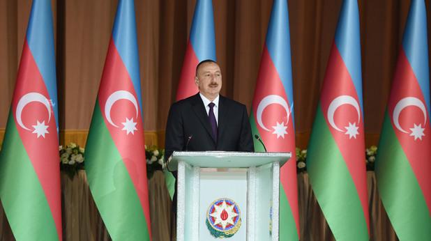 Азербайджанския президент Илхам Алиев