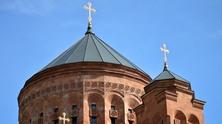църква, кръстове, християнство