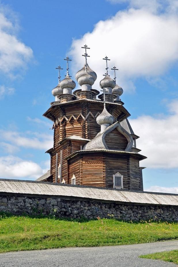 кижи, русия, дървени църкви