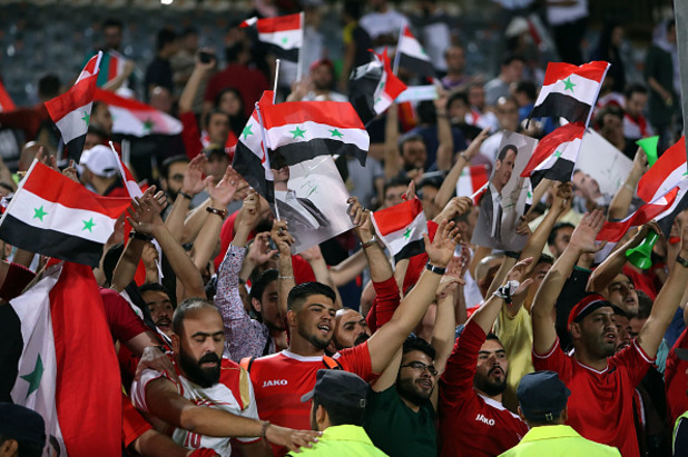 сирия, футбол, режим