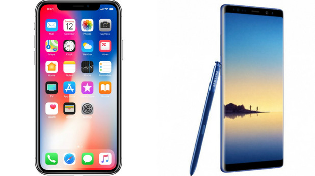 ,iphone x,note 8,samsung note 8