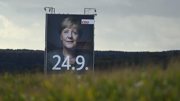 Меркел преди изборите