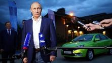 """Путин тества новата """"Лада"""""""