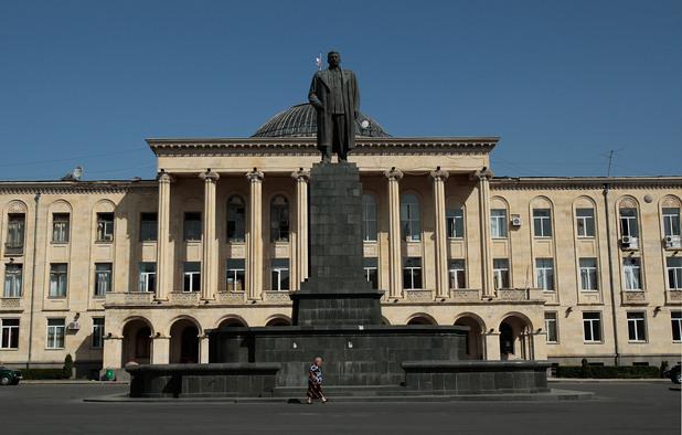 гори, грузия, град гори, родния град на сталин
