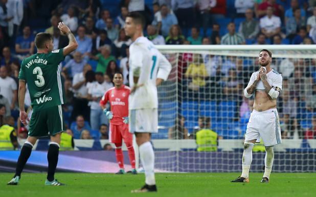 Реал - Бетис 0:1