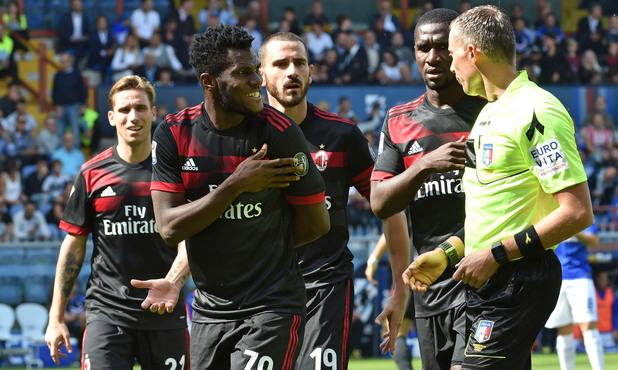 Сампдория - Милан 1:0