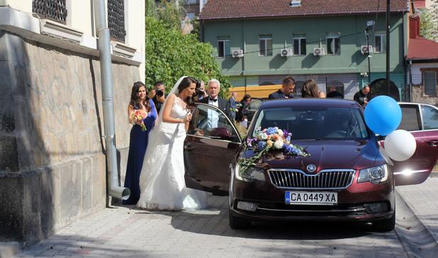 Волен Сидеров, сватба
