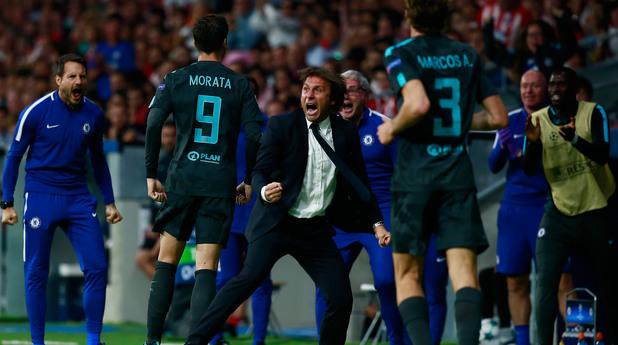 Атлетико Мадрид - Челси 1:2