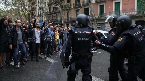 Протести в Каталуния