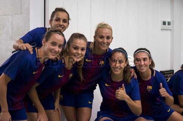 барселона, женски футбол, жени, отбор