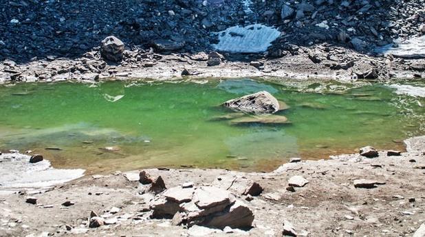езерото на скелетите, индия