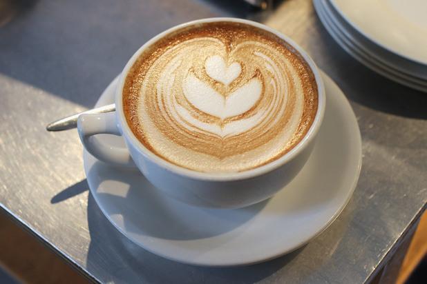 кафе, чаша кафе, капучино
