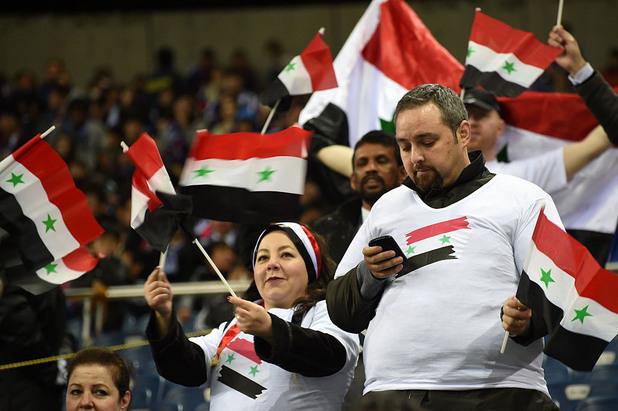 сирия, футбол, фенове