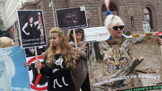 Вегански протест - 4 октомври 2017 г.