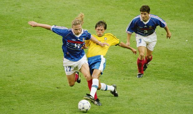 Франция - Бразилия 3:0, 98