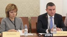 галя димитрова - нап; владислав горанов - министър на финансите