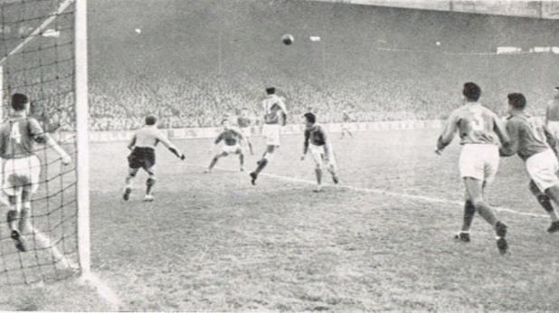 Франция – България 2:2, 25 декември 1957 г., Париж