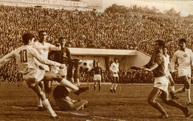 България – Франция 1:0, 29 септември 1963 г., София