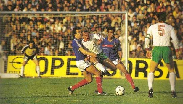 България – Франция 2:0, 2 май 1985 г., София
