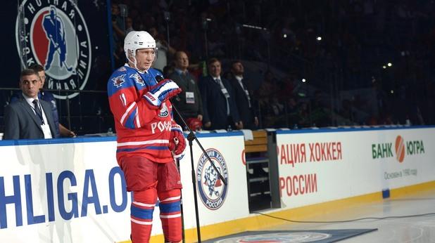 Путин е голям почитател на хокея