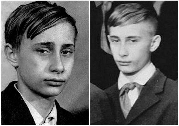 Владимир Путин като дете