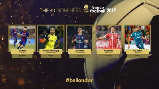 златна топка 2017