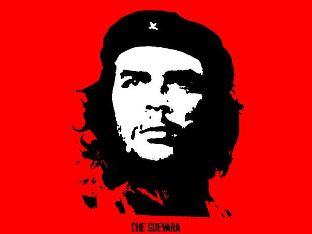 Стилизираният протрет на Че Гевара, направен от Джим Фицпатрик