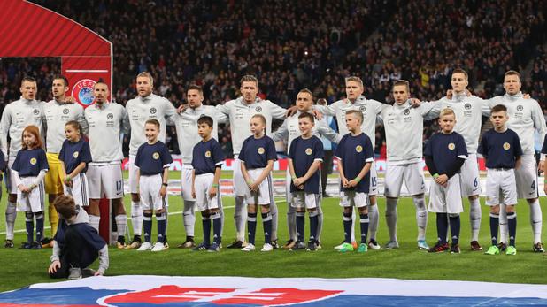 словакия, квалификации, мондиал 2018