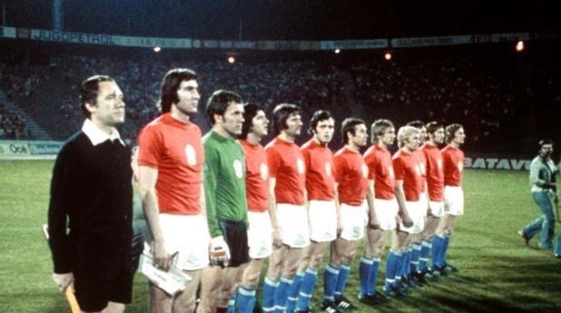 чехословакия 1976, евро 1976, шампиони, западна германия
