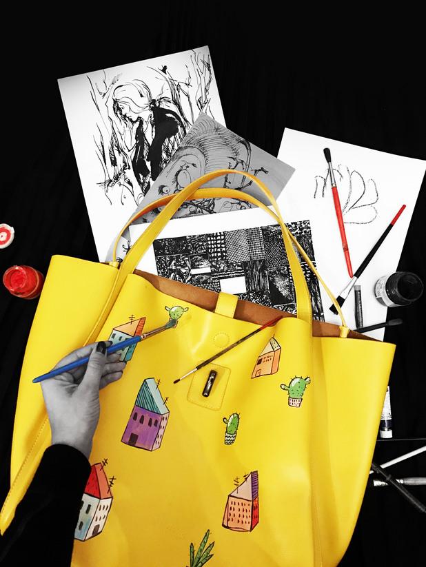 Collective - чанта с рисунка