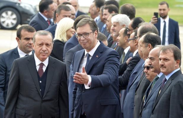 Александър Вучич и Реджеп Ердоган