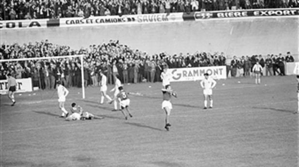 югославия, франция, 1965, мондиал 1960, квалификации, 1:0
