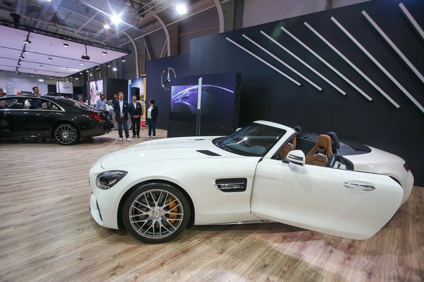 mercedes roadster, мерцедес