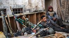 бойци срещу ИДИЛ в Ирак