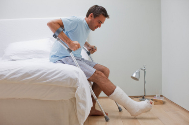 Счупен крак