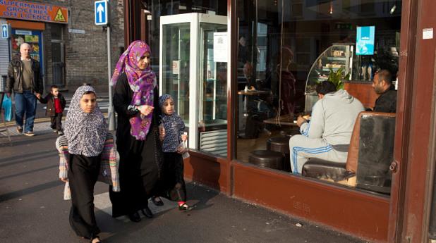 жена мюсюлманка