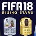изгряващи звезди, Fifa 18
