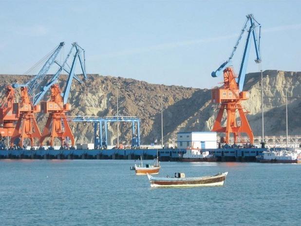 Пристанище Гуадар в Пакистан