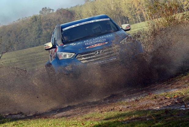 Hyundai off-road racing team
